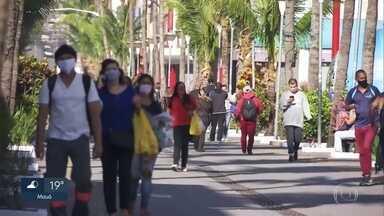 Movimento grande de pessoas marca primeiro dia de feriado prolongado em SP - A grande circulação de pessoas foi registrada na periferia da capital e em bairros que estão no limite da cidade com outros municípios.