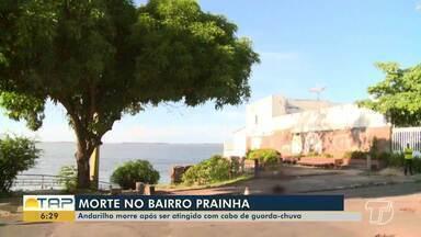 Após briga, homem em situação de rua morre em Santarém - Crime aconteceu na tarde desta terça-feira (19). Polícia investiga o caso.