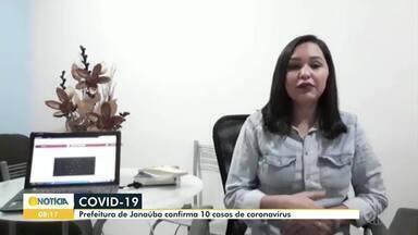 Confira os destaques do G1 Grande Minas dessa quinta-feira (21) - Prefeitura de Janaúba confirma 10 casos de coronavírus; seis pessoas estão curadas.
