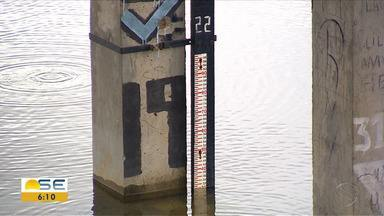 Defesa Civil alerta para possível transbordamento do rio Poxim - Defesa Civil alerta para possível transbordamento do rio Poxim.