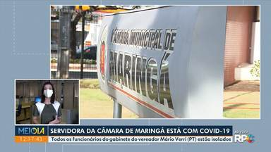 Servidora da Câmara de Maringá está com Covid-19 - Todos os funcionários do gabinete do vereador Mário Verri (PT) estão isolados.