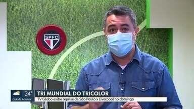 Ex-jogadores e médico do São Paulo contam bastidores do tri mundial - Ex-jogadores e médico do São Paulo contam bastidores do tri mundial