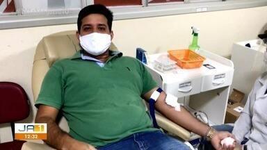 Morador de Palmas incentiva doação de sangue durante pandemia; veja como doar - Morador de Palmas incentiva doação de sangue durante pandemia; veja como doar