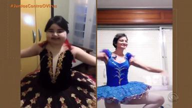 #CompartilheRS: conheça a história de duas bailarinas e como superam a doença com dança - Assista ao vídeo.