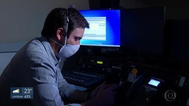 Sobre para 567 o número de profissionais doentes no DF - Na rede pública, profissionais de saúde denunciam problemas como falta de testes e de equipamentos de proteção individual.