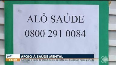 Rede de apoio reúne profissionais para atendimento à saúde mental no Piauí - Rede de apoio reúne profissionais para atendimento à saúde mental no Piauí
