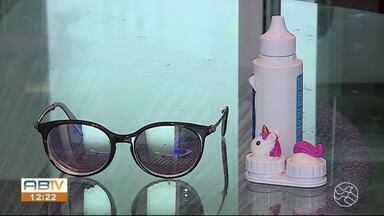 Óculos e lentes de contato precisam de mais cuidados devido ao novo coronavírus - Lentes também precisam de mais higiene.