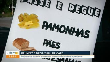 Cafés da manhã apostam em serviço delivery para driblar pandemia em Manaus - Cafés da manhã apostam em serviço delivery para driblar pandemia em Manaus
