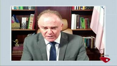 Casagrande avalia positivamente encontro de Bolsonaro com governadores - Reunião virtual aconteceu nesta quinta-feira.
