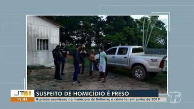 Preso homem suspeito de matar outro após acidente em ramal da comunidade de Pajuçara - Delegacia especializada de homicídios cumpriu a prisão na manhã desta quinta-feira (21) no município de Belterra.