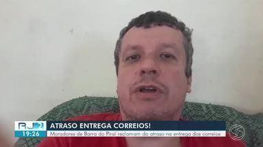 Moradores de Barra do Piraí têm tido problemas com os Correios - Reclamação tem sido por conta da demora na entrega das encomendas.