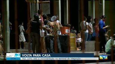 Veja como está o movimento de transportes públicos na capital maranhense - O repórter Werton Araújo, traz as informações.