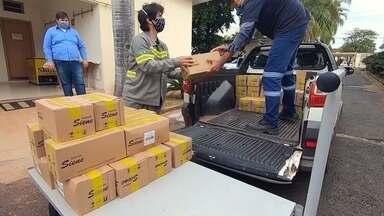 Empresas da região noroeste paulista fazem doações para ajudar no combate ao coronavírus - Empresas da região noroeste paulista estão fazendo doações para ajudar no combate ao novo coronavírus, causador da Covid-19. A ajuda é de extrema importância em época de pandemia.