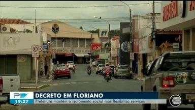 Floriano mantém decreto de isolamento por mais 17 dias - Floriano mantém decreto de isolamento por mais 17 dias