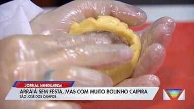 Arraiá em São José dos Campos vende comidas típicas do delivery e drive-thru - Confira reportagem do Jornal Vanguarda desta quinta-feira (21).