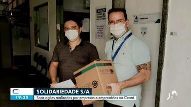 As boas ações de empresas e empresários durante pandemia - Confira mais notícias em g1.globo.com/ce