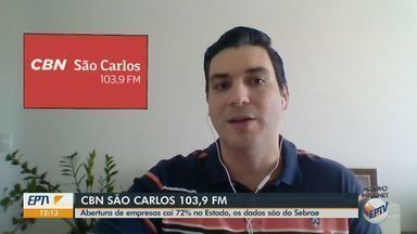 Abertura de empresas cai 72% no estado de São Paulo, de acordo com Sebrae - O apresentador da CBN Flávio Mesquita traz mais informações.
