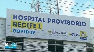 Hospitais de campanha do Recife recebem pacientes de outras cidades - Doentes com Covid-19 da Região Metropolitana e do interior são recebidos na capital