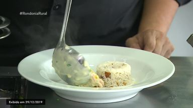 Parte 3: Culinária com castanhas, arroz e camarão - Veja como preparar camarão ao molho branco e arroz com castanhas.