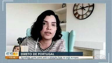 Ex-repórter do ES1 fala sobre a situação do coronavírus em Portugal - Renata Cordeiro falou sobre a rotina.