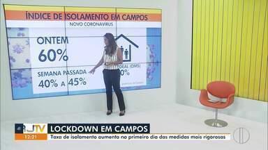 Apesar do lockdown, pessoas são flagradas se exercitando em Avenida de Campos, no RJ - Cerca de 10 pessoas estavam se exercitando na Av. Arthur Bernardes.
