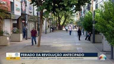 Feriado de 9 de Julho é antecipado no Estado de São Paulo - Veja as últimas notícias sobre a pandemia de Civid-19.