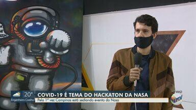 Hackaton promovido pela Nasa busca soluções para problemas da pandemia - Interessados em participar do desafio podem se inscrever até sexta-feira (29).