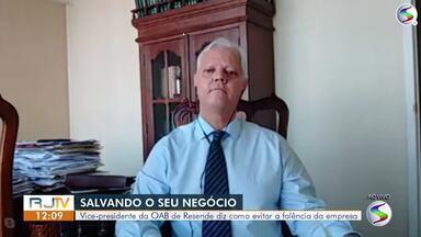Vice-presidente da OAB de Resende diz como evitar falência da empresa - Lojistas e empreendedores passam por momento difícil por conta da Covid-19.
