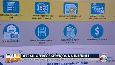 Detran oferece serviços pela internet - Confira o que pode ser feito online.