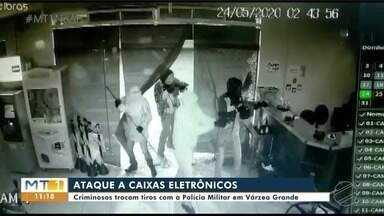 Criminosos trocam tiros com a PM em Várzea Grande - Criminosos trocam tiros com a PM em Várzea Grande.