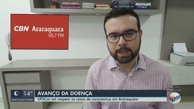 UFSCar vai mapear os casos de coronavírus em Araraquara - Veja as informações com o repórter da CBN Rafael de Paula.