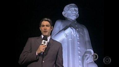 Bonner e Bial relembram 'Caravana do JN' em 2006 - Os jornalistas comentam projeto em que William Bonner viajou pelo Brasil apresentando o 'Jornal Nacional' em diversas cidades