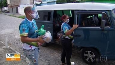 Quadrilhas juninas formam rede de solidariedade para enfrentar desafios da pandemia - Quadrilheiros falam do sofrimento por não ter o São João deste ano devido à pandemia do novo coronavírus.