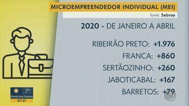 Aumenta o número de microempreendedores na região de Ribeirão Preto, SP - De janeiro a abril, em Ribeirão Preto foram cerca de 2 mil novos MEIs.