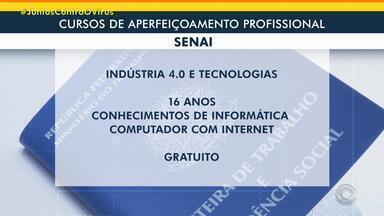 Senai oferece cursos gratuitos sobre indústria 4.0 - Aulas são à distância e têm certificado de conclusão. Inscrições são feitas pela internet. Alunos interessados precisam ter, no mínimo, 16 anos.