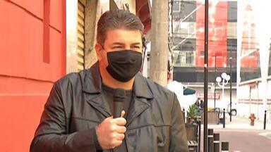 Associação Comercial de Mogi faz campanha para incentivo do uso correto de máscaras - Quando os comércios voltarem a funcionar cuidados vão ser muito importantes.