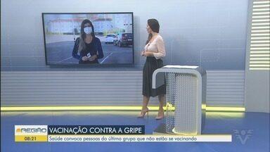 Santos reabre pontos de drive-thru para vacinação contra a gripe nesta quinta-feira - Pontos foram montados nos bairros Rádio Clube e Campo Grande. Drive-thru permite que morador seja vacinado sem sair do carro.