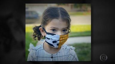 Sociedade Brasileira de Pediatria não recomenda o uso de máscara para crianças menores de dois anos - O objetivo é evitar asfixia, já que as crianças não sabem mexer na máscara. Os pediatras do Japão e dos Estados Unidos também não recomendam o uso. Veja como proteger essas crianças da Covid-19.
