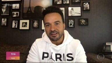 Fátima entrevista o cantor Luis Fonsi - O cantor fala sobre o que tem feito na quarentena e fala sobre o fenômeno ´Despacito´