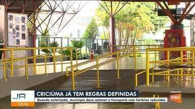 Prefeitura de Criciúma publica decreto sobre retomada do transporte público - Prefeitura de Criciúma publica decreto sobre retomada do transporte público