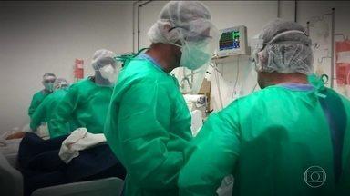 Levantamento revela déficit de 17 mil enfermeiros e técnicos de enfermagem no país - Pesquisa é do Conselho Federal de Enfermagem. O combate ao coronavírus está expondo o número insuficiente de profissionais especializados nas UTIs.