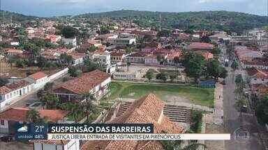 Justiça libera entrada de visitantes em Pirenópolis - A decisão atende ao pedido feito pelo Ministério Público, mas a prefeitura recorreu porque teme aumento de casos da doença na cidade.
