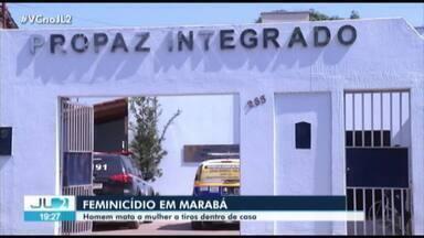 Mulher é vítima de feminicídio em Marabá - Homem atirou na mulher, enquanto os dois filhos do casal estavam no quarto e ouviram os disparos.