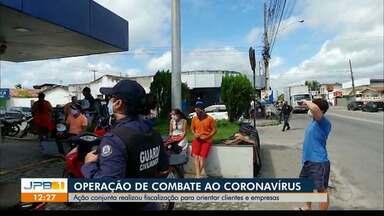 Operação conjunta realiza fiscalização em João Pessoa - Ação reuniu agentes do MP Procon e secretaria de segurança urbana. Uma agência da Caixa foi autuada