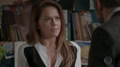 Lili defende Fabinho e demite Germano - Germano exige que Fabinho peça desculpas a Jonatas e ameaça demitir o filho
