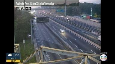Câmeras do trânsito no Rio - Avenida Brasil , Rodovia Presidente Dutra , Linha vermelha