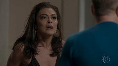 Carolina termina o relacionamento com Arthur - A jornalista revela que sabe sobre a vasectomia e expulsa o empresário de sua casa