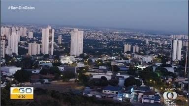 Confira a previsão do tempo para esta terça-feira (2) em Goiás - Dia deve ser de calor na parte da tarde.