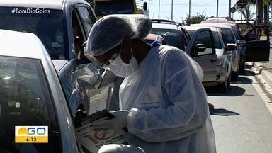 Após testes, 46 pessoas são confirmadas com coronavírus em Senador Canedo - Cidade fez 2,4 mil testes em três dias.