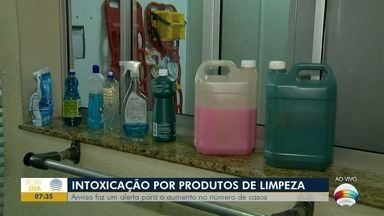 Anvisa faz alerta sobre intoxicação por produtos de limpeza - Veja as notícias relacionadas à pandemia de Covid-19.
